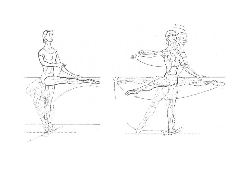 The Classic Ballet: ROND DE JAMBE EN L\'AIR