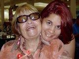 Minha filha Amélia e minha sogra...