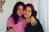 Minha filha Amélia e Biba