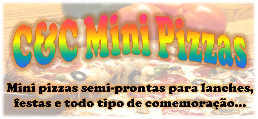 C&C mini pizzas semi-prontas
