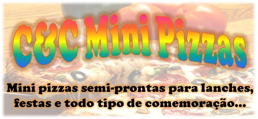 C&C mini pizzas semi-prontas