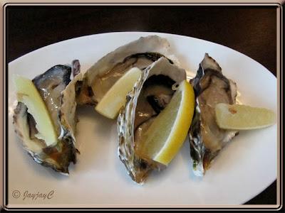 Fresh Oysters at Carlos Mexican Canteena, Pavilion KL