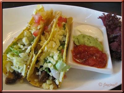 Tacos at Carlos Mexican Canteena, Pavilion KL