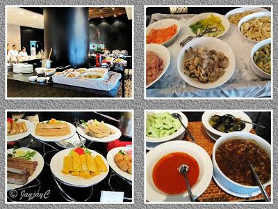 Buffet hi-tea food-fare at Maya Brasserie, Hotel Maya Kuala Lumpur