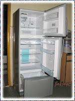 Our new Toshiba 3-door refrigerator (MODEL: GR-M38MDV)