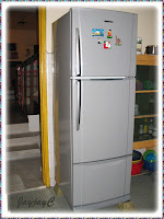 Our new Toshiba 3-door refrigerator (MODEL: GR-M38MDV)