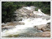 Chamang Waterfalls in Bentong, Pahang, West Malaysia