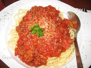 Beef Bolognaise Spaghetti