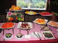 Assorted cut fruits