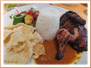 Grilled Balinese Chicken at Delicious, Dua Residency, Jalan Tun Razak Kuala Lumpur
