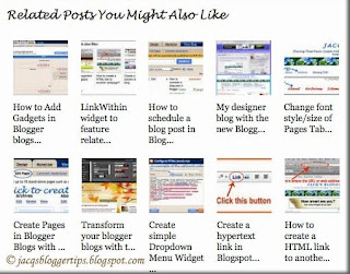Related Posts widget with 10 thumbnails
