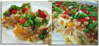 Savoury Steamed Pumpkin Cake with rice flour, a traditional Chinese cooking