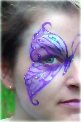 Maquillaje de mariposa para halloween