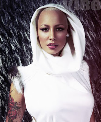 amber rose with long hair pictures. amber rose long hair. amber