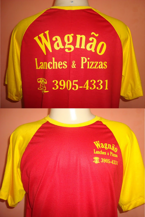 CAMISETAS P/ LANCHES E PIZZARIAS