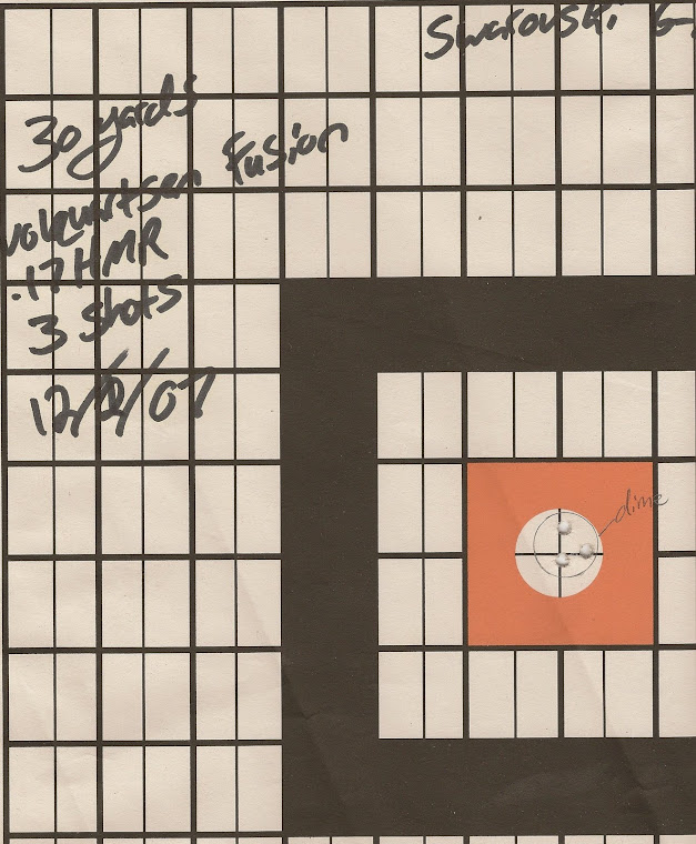 3 shot group from 30 yards with the Volquartsen.