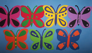 Mariposas coleccionables para pared