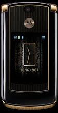 Motorola razr v8 luxery edition