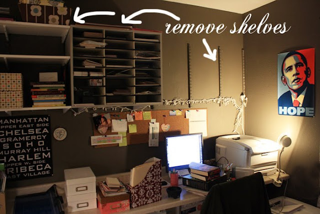 My DIY home office renovation begins..... - Made By Girl