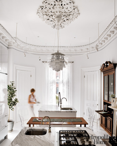 Decorating Kitchen on Madebygirl  All White Dream Kitchen    Elle Decor