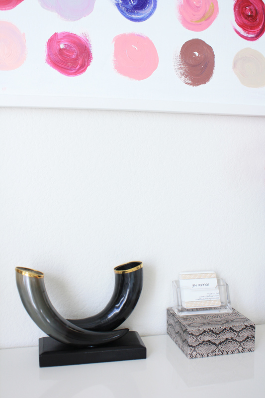 The Tyrol Horn Vase Was On My Wishlist   So It Was Great To See It In  Person Finally! I Placed It On My Desk For Now.