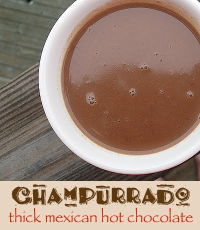 champurrado is basically mexican hot chocolate married with an atole ...