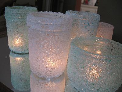 Соляную лампу своими руками