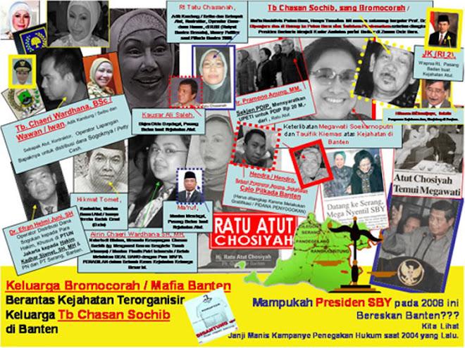 Ratu Atut Chosiyah Binaan SBY