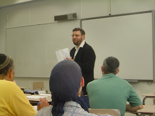 Rabbi Aryeh Klapper speaking
