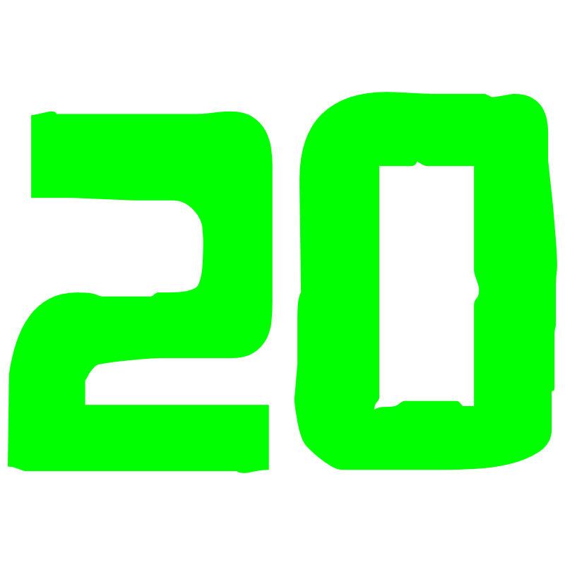 Http Imgarcade Com 1 Number Twenty