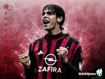 Real Madrid midfielder Kaka is