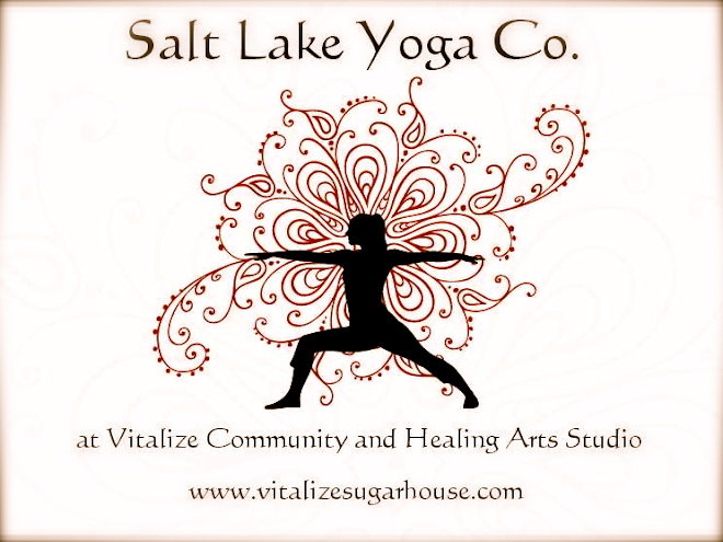 Join Adrienne for classes with Salt Lake Yoga Co. at Vitalize!