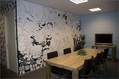 David blanco creativa forma de pintar una pared - Formas de pintar paredes ...