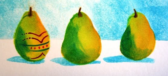 Easter Pear Step 4