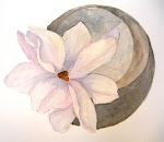 Original Watercolor - Magnolia ...