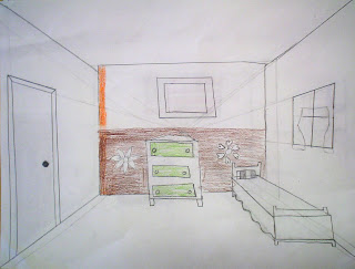 lessons from the art room one point perspective