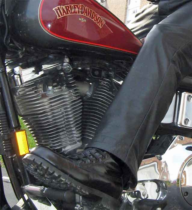 Why Do Bikers Wear Boots? | BHD's Musings