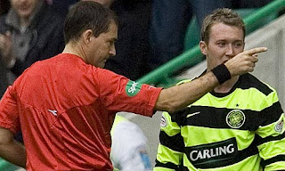 Scott Brown in no mood to forgive referee McDonald