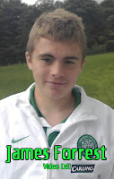 James Forrest earns first team call up after starring for u-19′s
