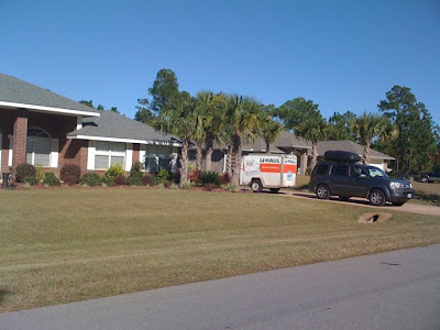 Miles Furniture Pensacola This afternoon we went straight over to the house to empty out the ...