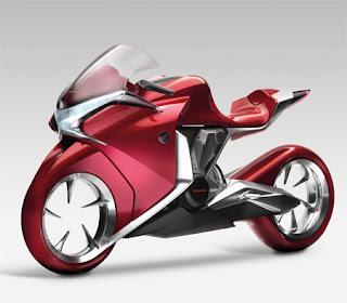 Honda V4 Motorcycle Concept