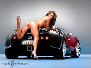 Sexy Girl With Car
