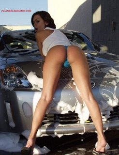 Car and Sexy Girl