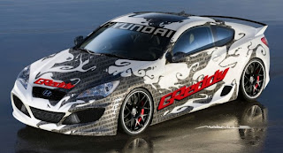 Hyundai Genesis Coupe Modification