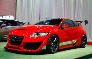 Honda CR-Z Hybrid sport ( car sport design ) modification