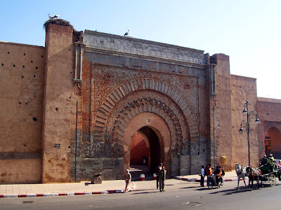 Bab Agnaou, gateway to the Kasbah district