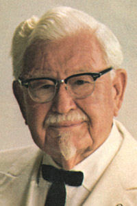 The Colonel, bless him