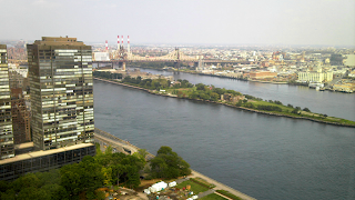A room with a view; New York's East River