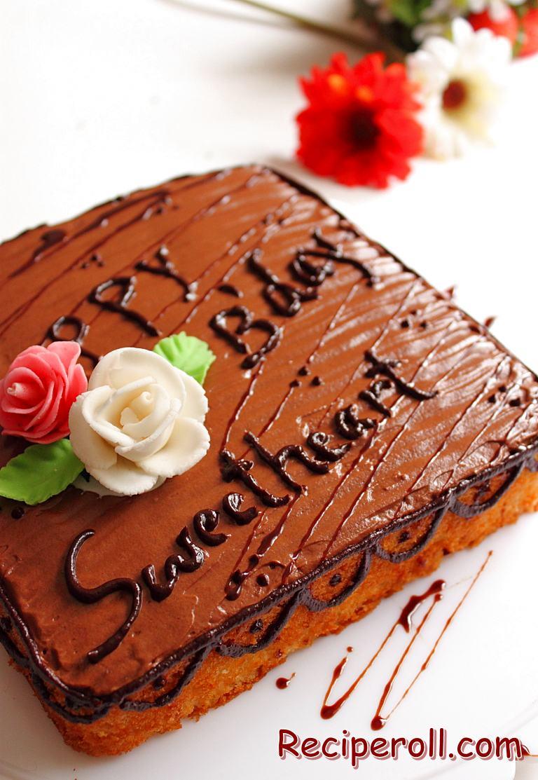 Ultimate Chocolate Birthday Cake Recipe Image Inspiration of Cake
