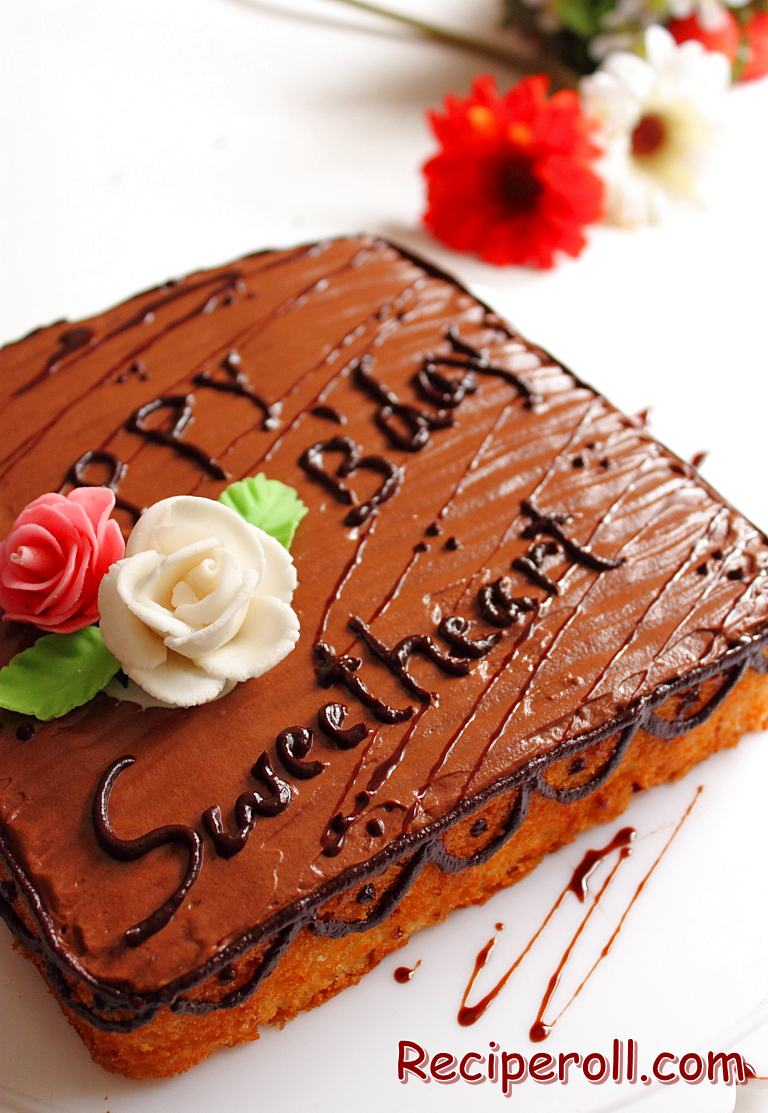 Ultimate Chocolate Birthday Cake images